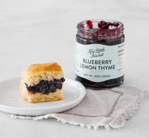 Blueberry Lemon Thyme Preserves - 10 oz Jar Image