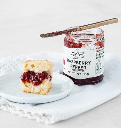 Raspberry Pepper Preserves - 10 oz Jar
