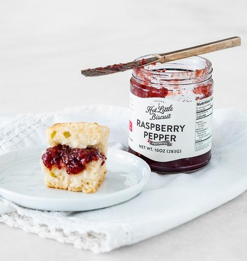 Raspberry Pepper Preserves - 10 oz Jar Image