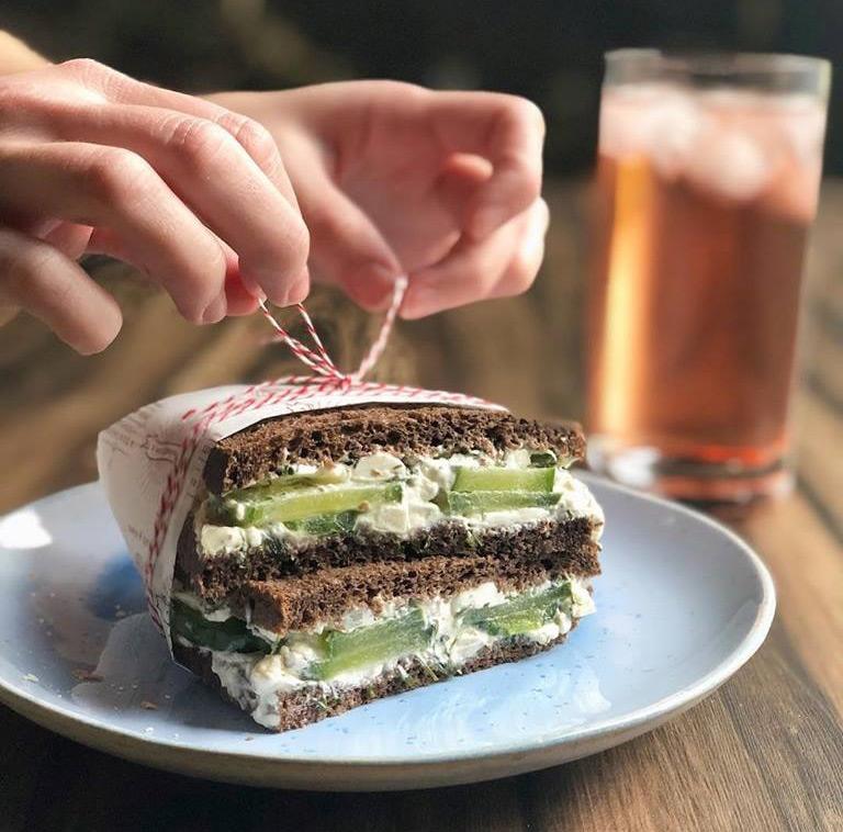 Cucumber Dillicious Sandwich Image