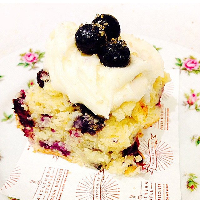 Sat & Sun: Blueberry Biscuit Image