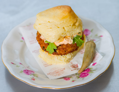 Thursday: Crab Cake Biscuit Image
