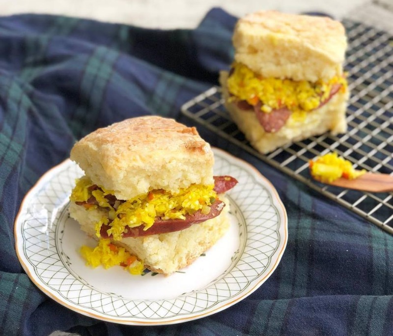 Saturday & Sunday: Smoked Sausage Biscuit Image