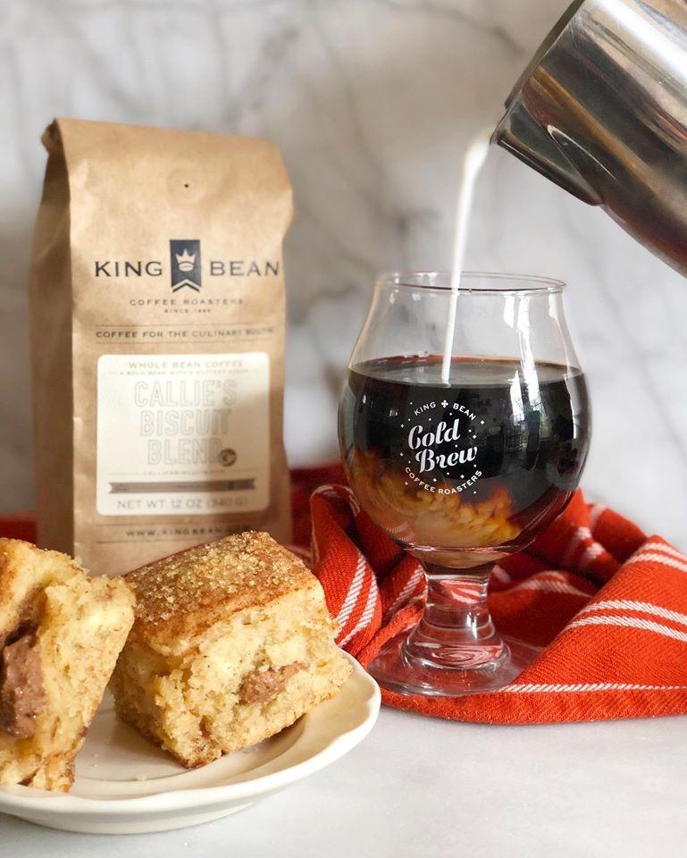 King Bean Nitro Cold Brew Coffee Image