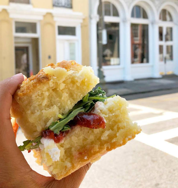 Monday: Goat Cheese Biscuit Image