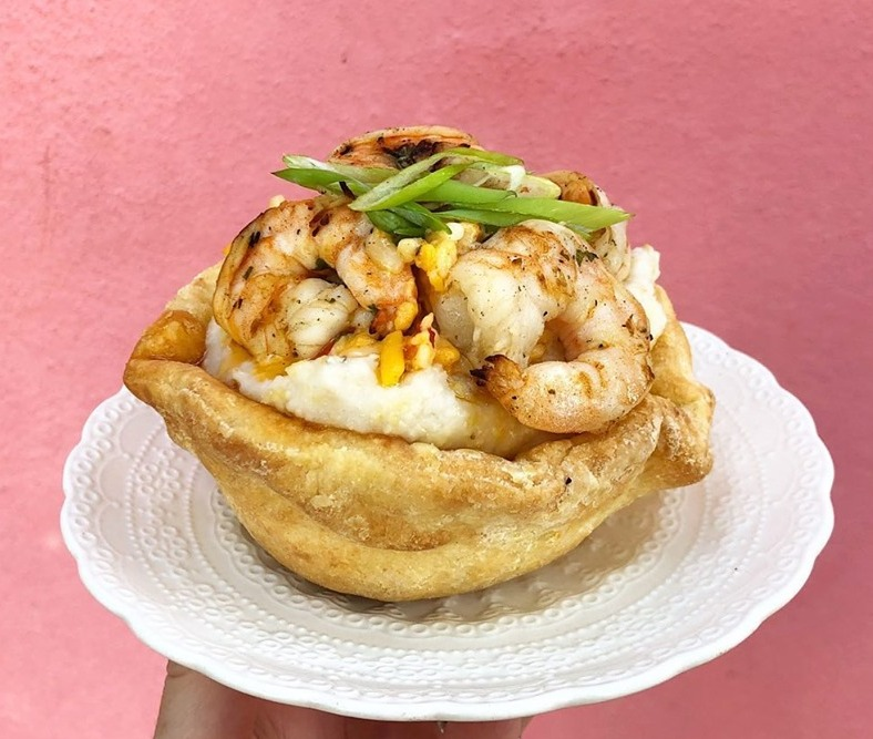 Wednesday: Shrimp and Grits Bowl Image