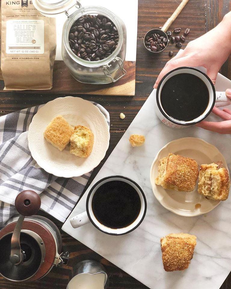 King Bean French Press Coffee Image