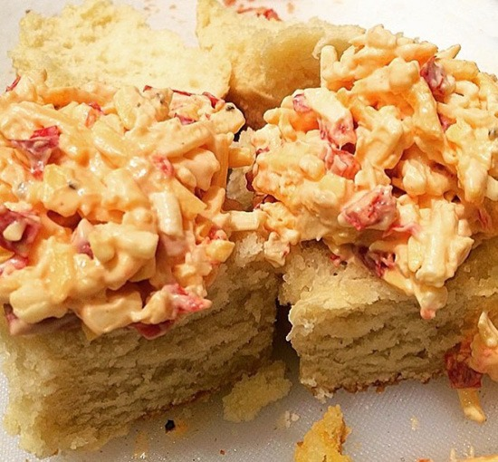 Pimento Cheese Biscuit Image