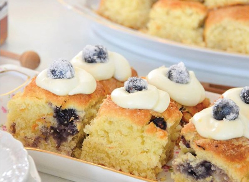 SAT & SUN: Iced Blueberry Biscuit Image