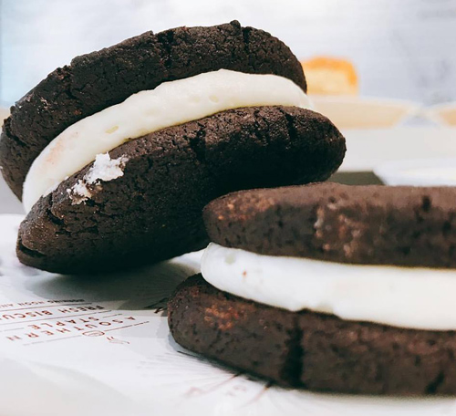 Cocoa & Creme Cookies Image