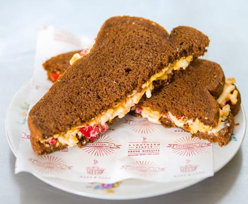 Pimento Cheese Sandwich Image