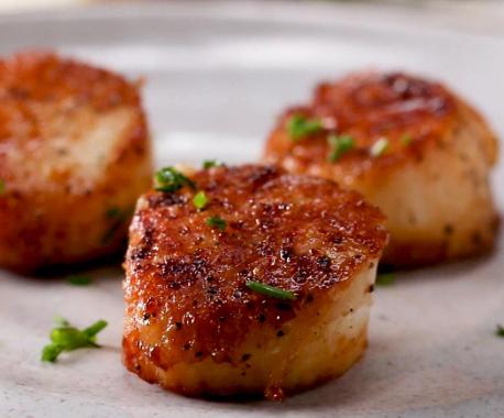 Fried Scallops Image