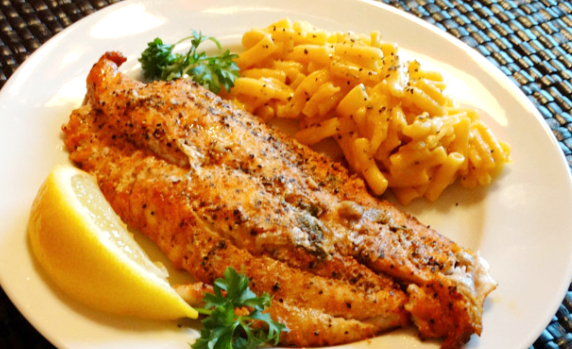Catfish Fillet Dinner Image