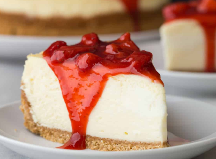 Strawberry Cheese Cake Image