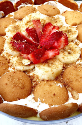 Strawberry Banana Pudding Image