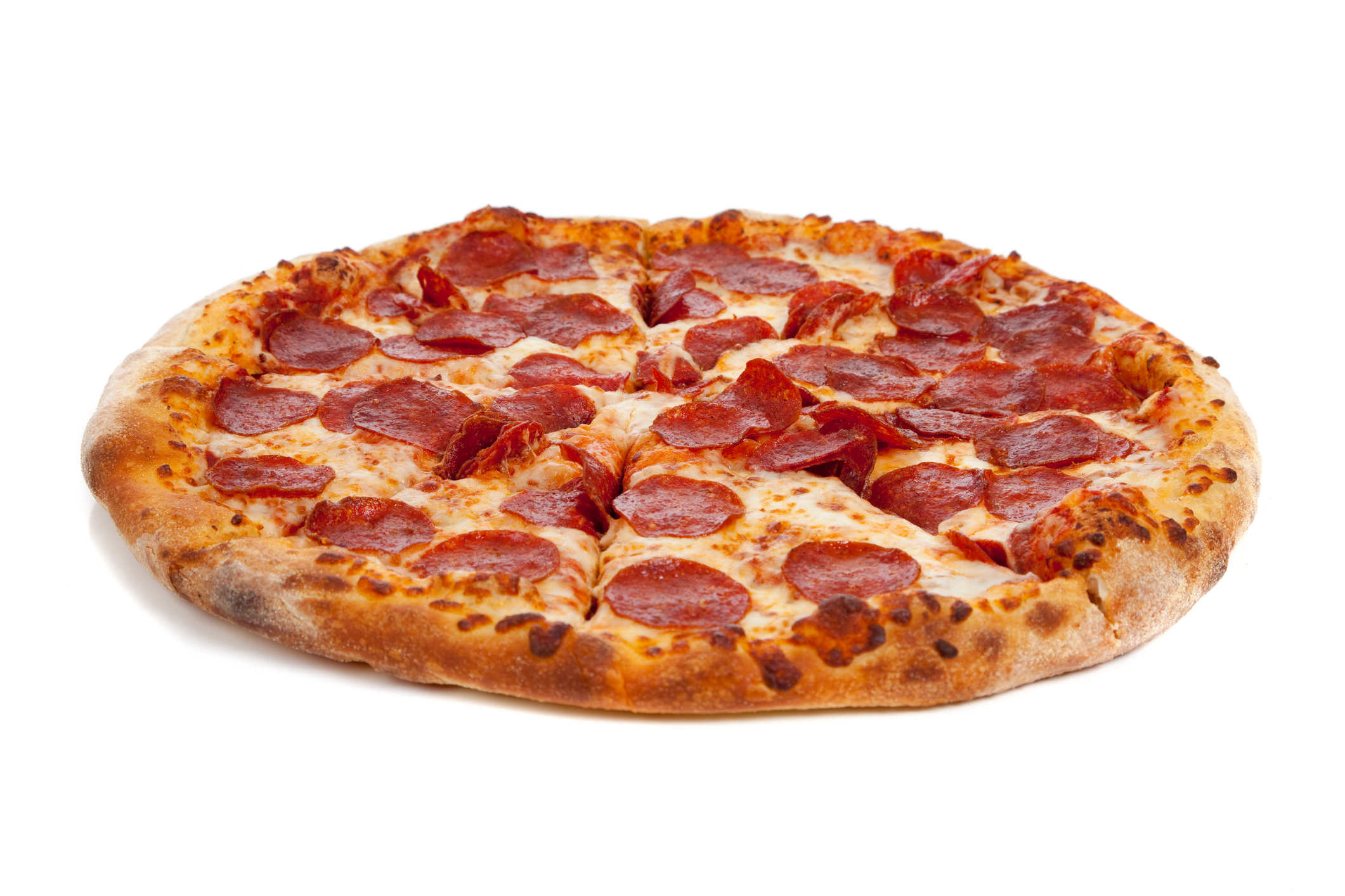 One Topping Pizza Image