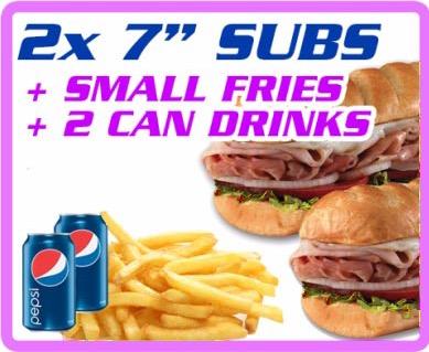 "2X 7"" Subs Image"