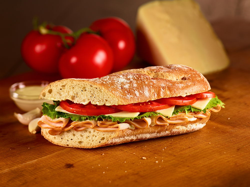 Tuscan Turkey Sandwich Image