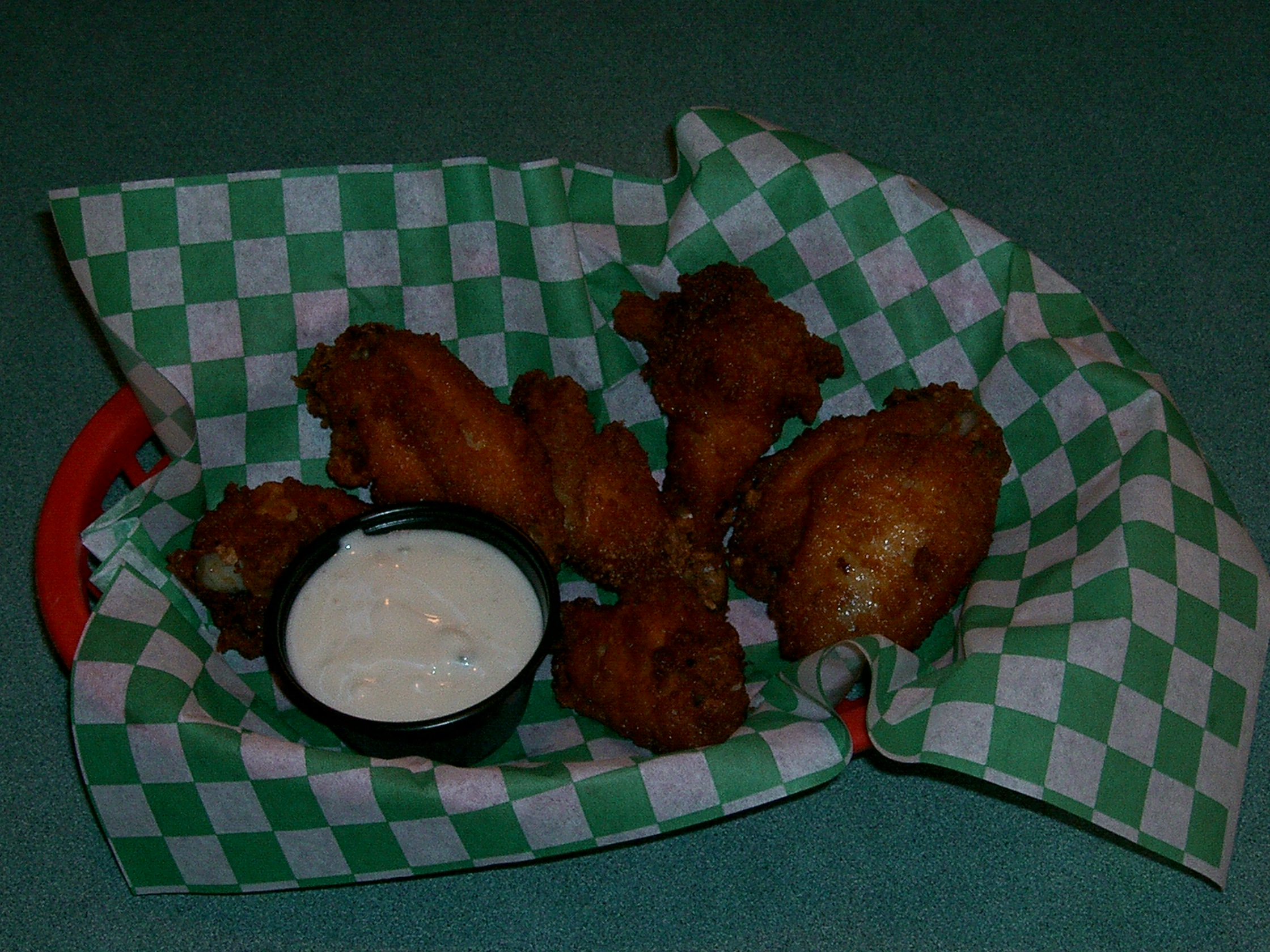 Barbecue Wings Image