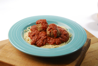 Spaghetti with Meatballs Image