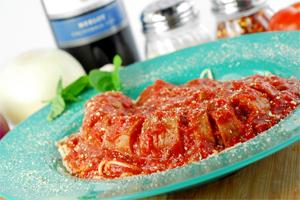 Spaghetti with Italian Sausage Image