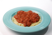 Spaghetti with Meatsauce Image
