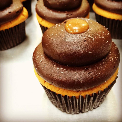 Chocolate Covered Salted Caramel