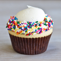 Birthday Ice Cream Cupcake Image