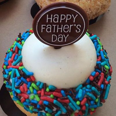Happy Father's Day Pick Motif - Chocolate [6/13 - 6/15 ONLY]