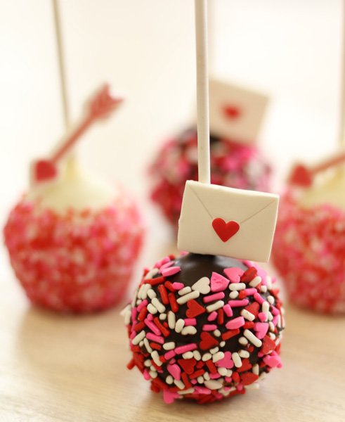 Red Velvet Valentine Motif Cake Pop [2/12 - 2/14 ONLY]