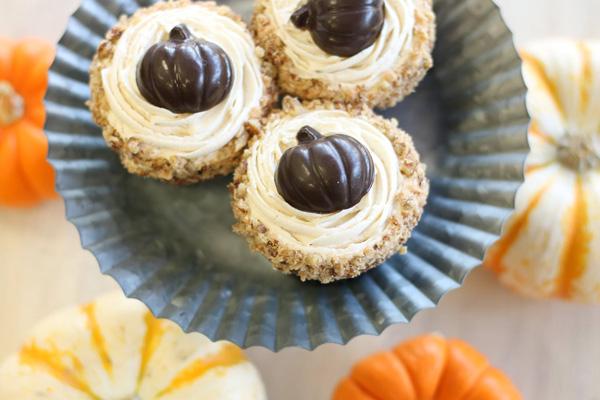 Pumpkin Maple Cheesecake - Mini