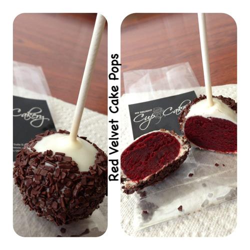 Red Velvet Cake Pop Image