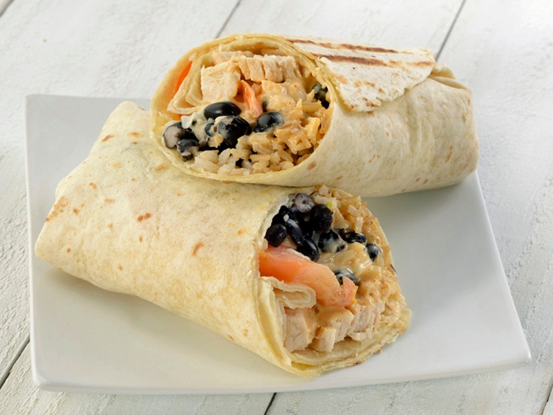 Chipotle Chicken Wrap Image