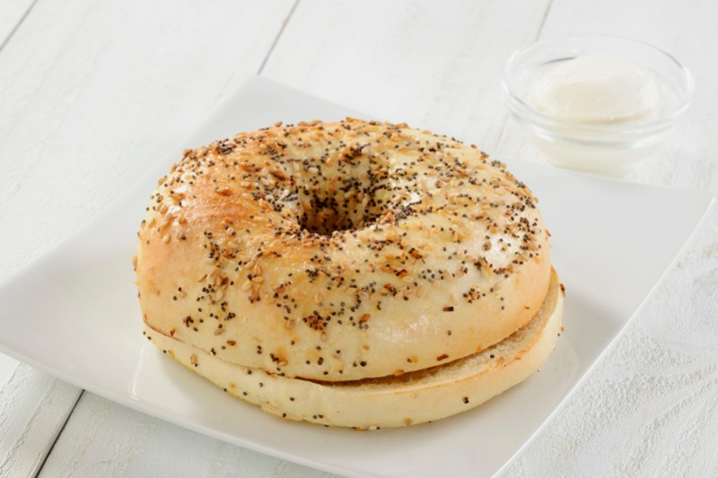 Plain Bagel Image