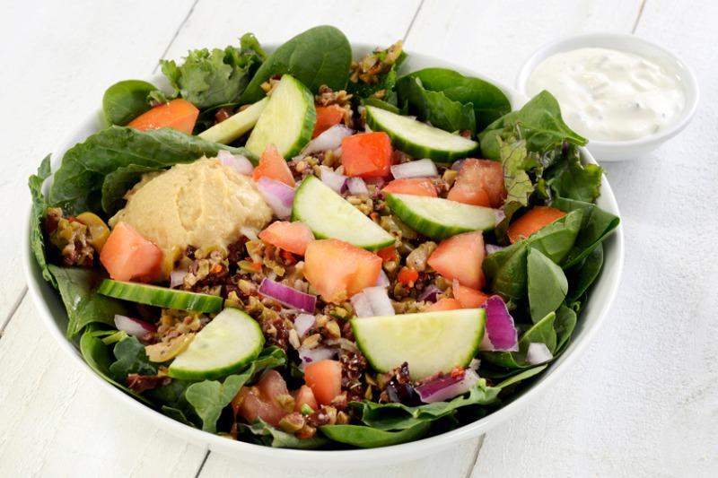 Veggie Greek Bowl Image