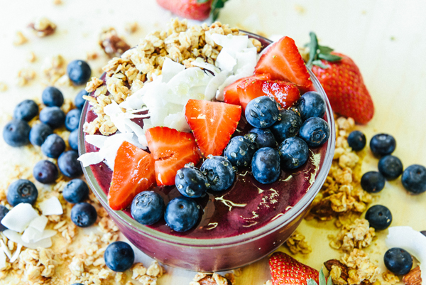 Traditional Açai Bowl Image