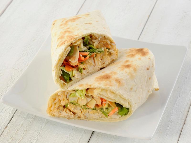 Sesame Thai Chicken Wrap
