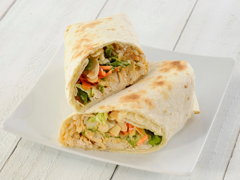 Sesame Thai Chicken Wrap Image