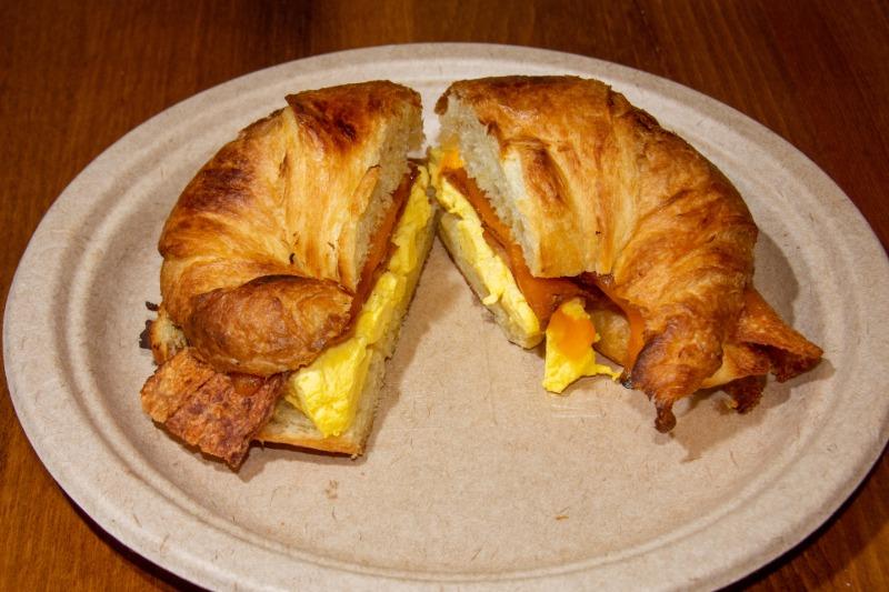 Breakfast Sandwich Croissant Image