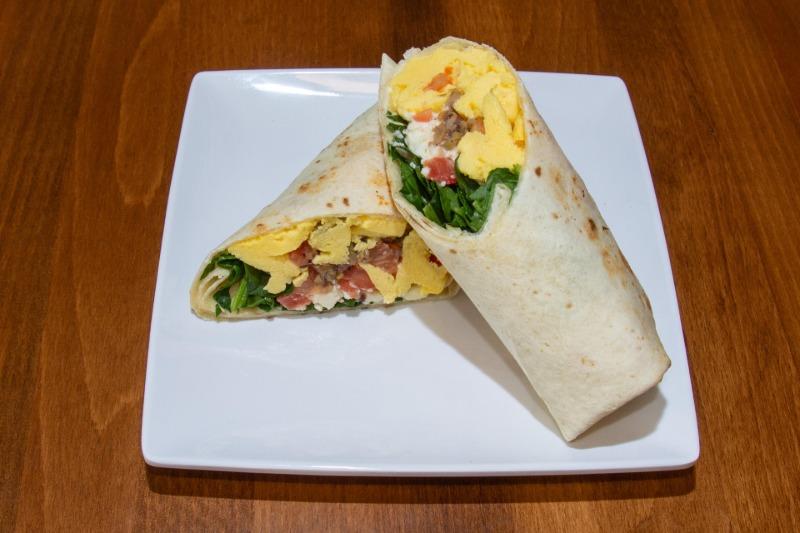 Mediterranean Burrito Image
