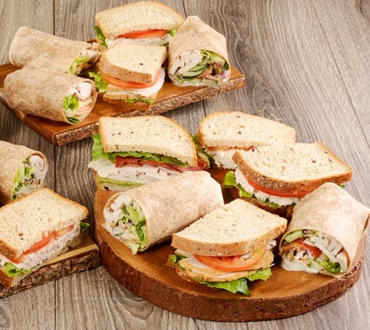 Assorted Wrap & Sandwich Box