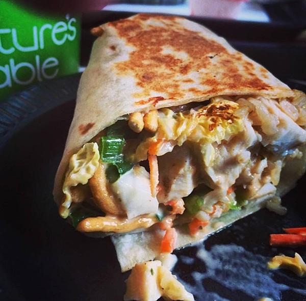 Sesame Thai Wrap