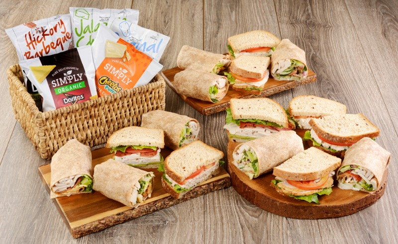 Wrap Boxed Lunch Image