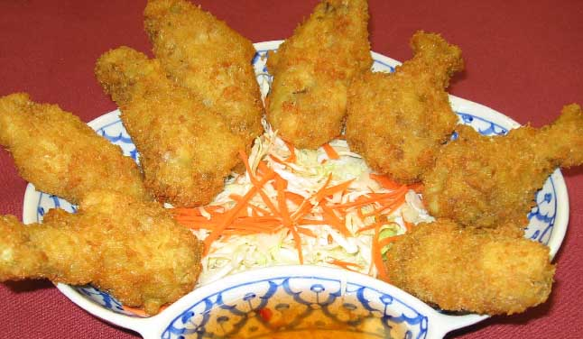 Thai Fried Chicken Wings (8) Image