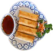 Crispy Vegetable Egg Rolls (4) Image