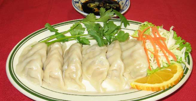 Pot Sticker - Chicken or Pork (6) Image