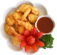 Fried Golden Battered Shrimp (8) Image