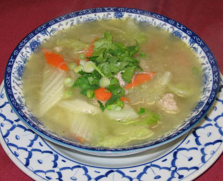 White Cabbage Soup Image