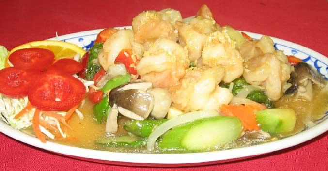 Shrimp Asparagus Image
