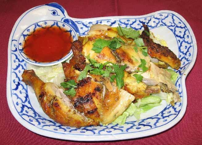 Thai BBQ Chicken Image